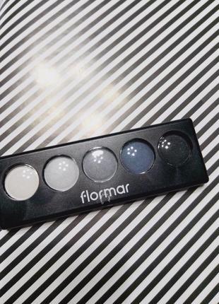 Палетка теней от flormar, набор теней
