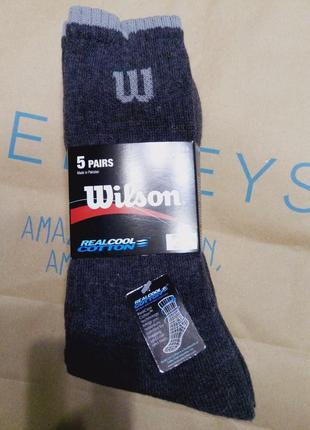 Комплект мужских носков wilson, упаковка 5 пар