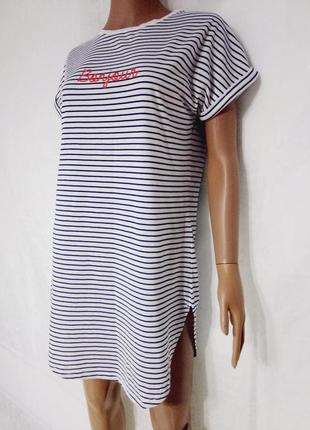 Платье-туника в полоску bonjour