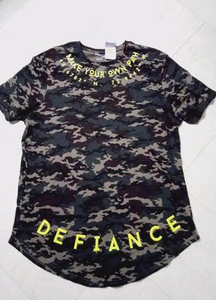 Мужская футболка военный принт