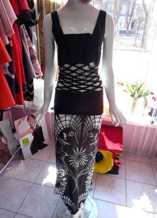 Дизайнерское вечернее платье, очень стильное
