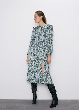 Нарядное платье zara - l