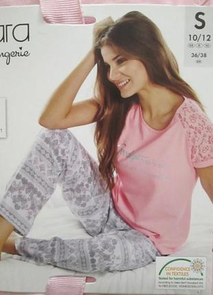 Красивая женская пижама домашний костюм esmara германия, футбо...