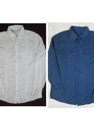 Классная мужская рубашка в стиле милитари takko fashion германия