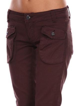 Модные узкачи в стиле милитари, zuiki италия, джинсы брюки штаны