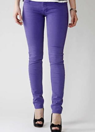 Модные яркие зауженные джинсы тakko fashion германия, брюки штаны