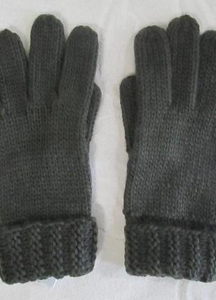 Фирменные вязаные перчатки blue motion германия