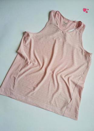 Майка crivit лёгкая спортивная дышащая, одежда для фитнеса