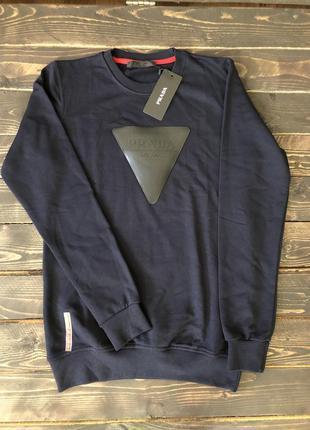 Мужская кофта prada, цвет темно-синий, разные размеры в наличии