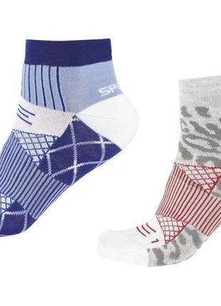 Зональные спортивные носки с компрессией, crivit германия, р.3...