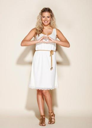 Красивое платье сарафан с кружевом esmara германия