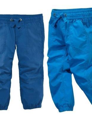 Хлопковые джоггеры штаны брюки карго lupilu германия