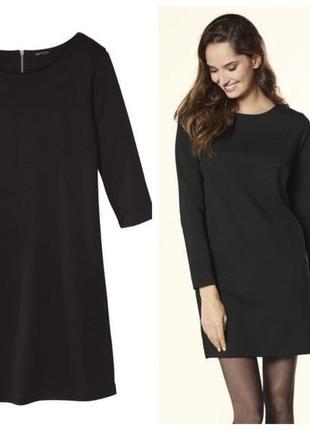 Классическое черное платье футляр esmara германия