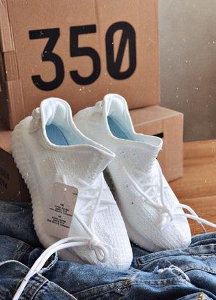Кроссовки  adidas yeezy 350 white