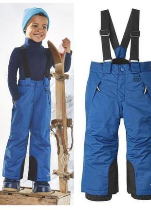 Зимний термо полукомбинезон комбинезон, лыжные штаны lupilu ге...