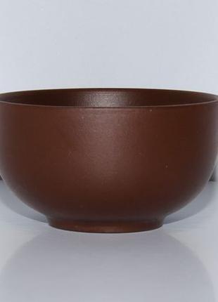 Пиалы из темной глины для китайского чая, 25 мл