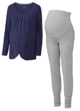 Женская пижама домашний костюм для беременных биохлопок esmara...