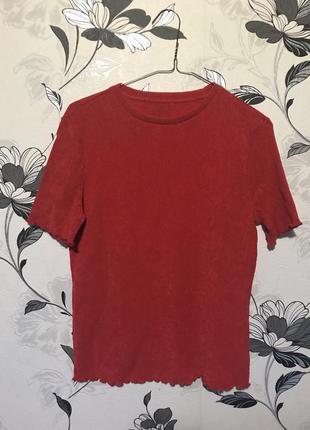 Красный топ / футболка