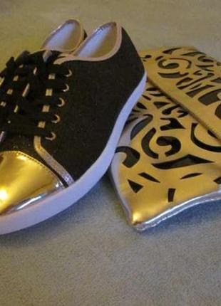Лоферы кеды туфли со шнурками (реальные фото), р. 36-37-38