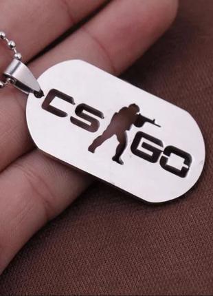Кулон Counter Strike (CS:GO, контр страйк)
