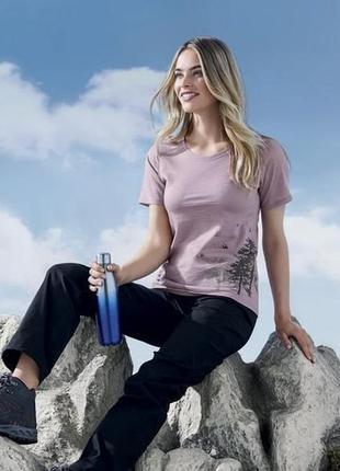Женская термо футболка merino, 100% шерсть мериноса, термобель...