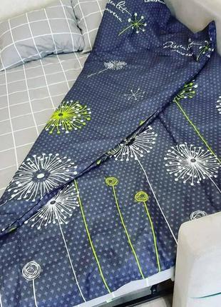 Качественное постельное белье одуванчик