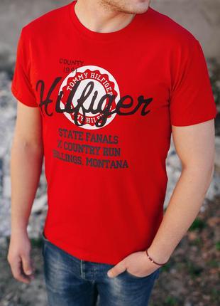 Мужская футболка hilfiger/ молодіжна футболка