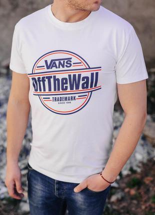 Мужская футболка vans/ молодіжна футболка