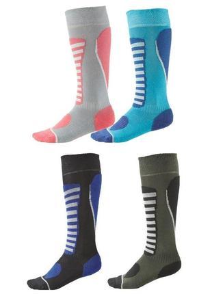 Функциональные детские термо носки, зональные лыжные гольфы cr...