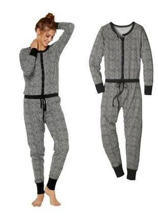 Женская пижама, домашний ромпер слип комбинезон, esmara германия