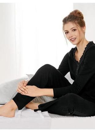 Женская пижама домашний костюм с кружевом esmara германия, рег...