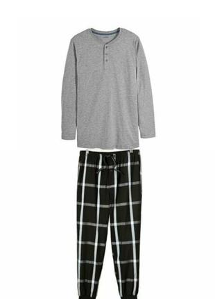 Мужская пижама домашний костюм livergy германия, реглан кофта ...