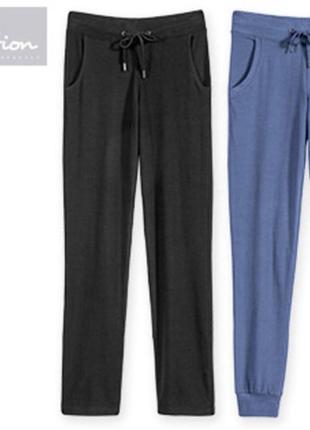 Спортивные или домашние штаны брюки джоггеры, биохлопок, blue ...