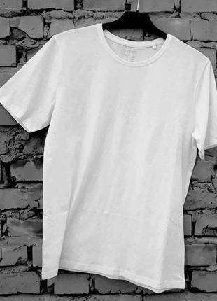 Мужская белая футболка livergy германия