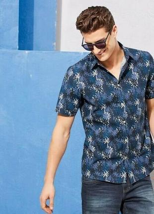 Стильная летняя мужская рубашка тенниска livergy германия