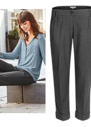 Женские укороченные брюки капри blue motion германия