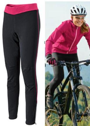 Женские велоштаны softshell crane германия, вело штаны тайтсы ...