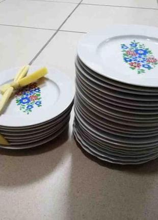 Набор тарелок (30 штук)-