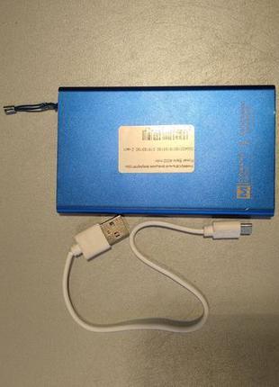Универсальный внешний аккумулятор Power Bank 4000 mAh
