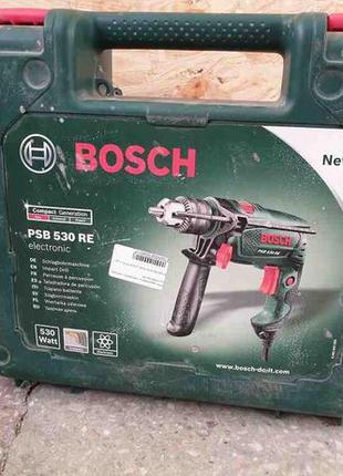 Ударная дрель-шуруповерт Bosch PSB 530 RE