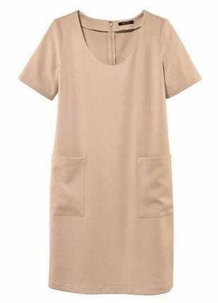 Красивое летнее платье футляр с карманами еsmara германия