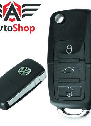 Корпус выкидного ключа Volkswagen Passat, B5, Polo, Golf 6, Toura