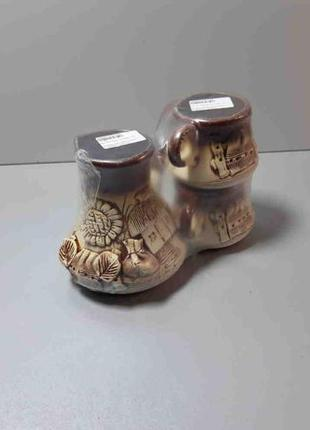 Турка керамическая с двумя чашками