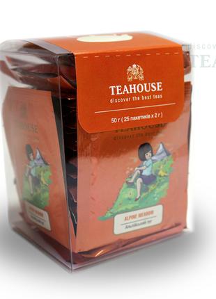 Чай Альпийский луг Teahouse пакетированный для чашки 25 Х 2 г