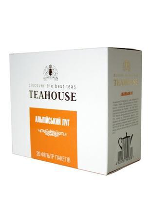 Чай Альпийский луг Teahouse пакетированный для чайника 20 Х 5 г