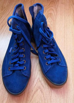 Ботинки - кеды бренда esprit, размер 38, стелька 24 см