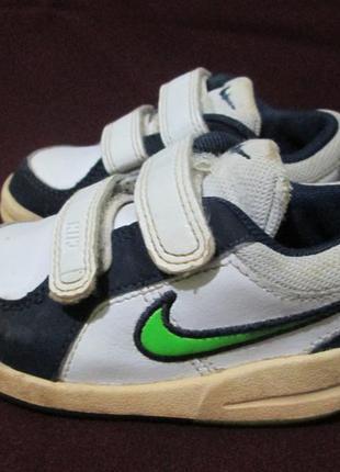 Кожаные кроссовки nike, оригинал, стелька 13 см