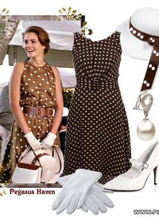 Sale платье в горох, платье красотка