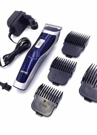 Машинка для стрижки волос Gemei GM-6005 машинка аккумуляторная