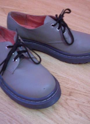 Туфли от united colors of  benetton.